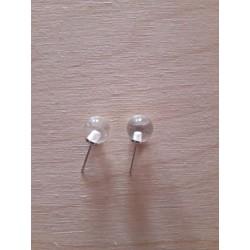 perles de cristal de roche