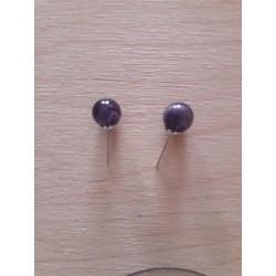 perles d'améthyste