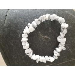 bracelet chips de howlite