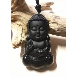 Bouddha obsidienne