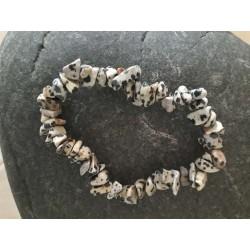 bracelet en chips de jaspe...