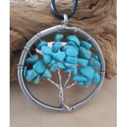arbre de vie turquoise